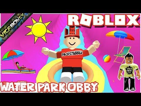 Roblox Waterpark OBBY  Kid Gaming VitaBoyTV