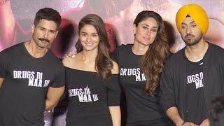 Nonton Uncut  Udta Punjab Trailer Launch   Shahid Kapoor  Kareena Kapoor Alia Bhatt  Diljeet Film Subtitle Indonesia Streaming Movie Download
