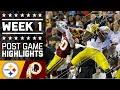 Steelers vs Redskins | NFL Week 1 Game Highlights