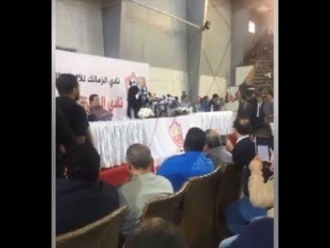 العرب اليوم - شاهد: بث مباشر لمؤتمر مرتضى منصور الخاص بصفقة القرن
