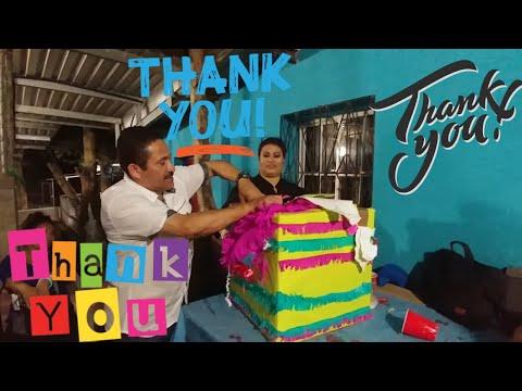 Y LA SORPRESITA🎁 ERA PARA...Gracias Mauricio y Gladis Ayala. Celebrando el 1/4 de MILLON. Parte 21