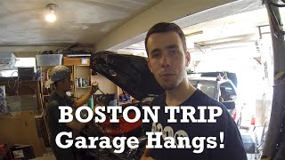 Boston Trip Day 1: Garage Hangs and Car Meets by Ignition Tube