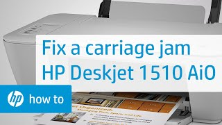 Learn how to fix your HP printer when the ink carriage jams and the Attention Light on the printer's control panel blinks. The steps shown also apply to thes...