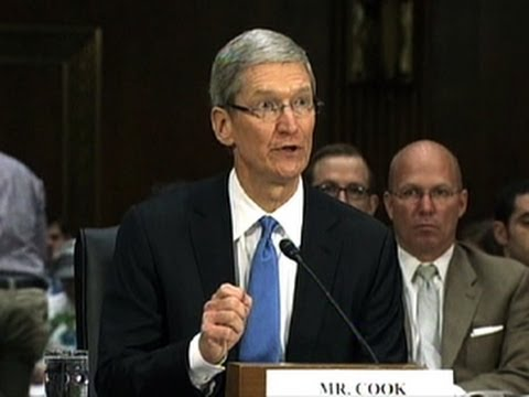 apple; - http://cnet.co/10k2mYm Apple CEO Tim Cook offers impassioned rejoinder to critics claiming the company uses gimmicks and tax loopholes.