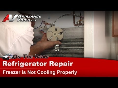 Hotpoint Refrigerator Repair – Freezer is Not Cooling Properly – HTS16HBMFRWW