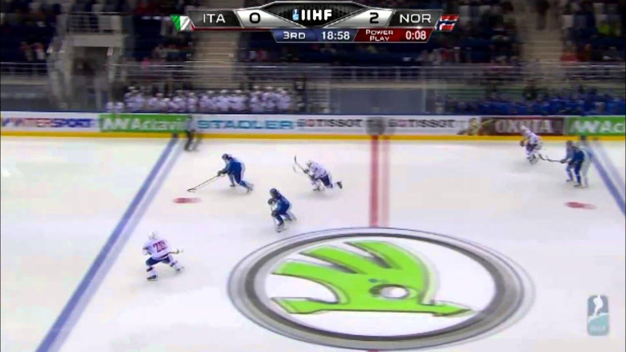Norway vs Italy IIHF 2014 (World Championship) highlights