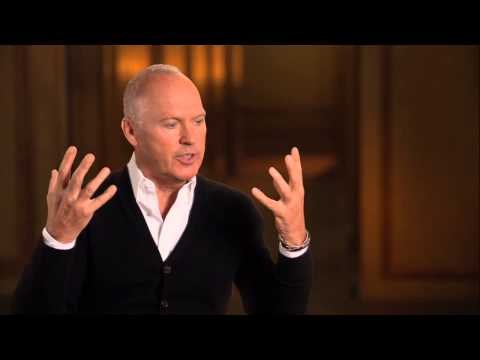 "Birdman: Michael Keaton ""Riggan Thomson"" Behind the Scenes Movie Interview"