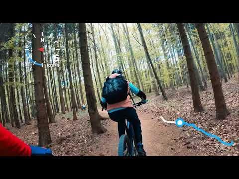 (cz) Single Trail Moravský Kras Jedovnice 2020 Jednička