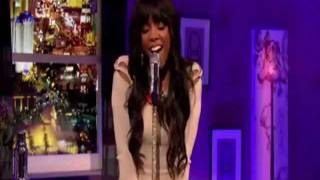 Kelly Rowland singing acapella