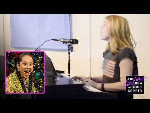 Videos musicales - Billie Eilish Surprises Alicia Keys w/ a Home Video 'Fallin' Cover