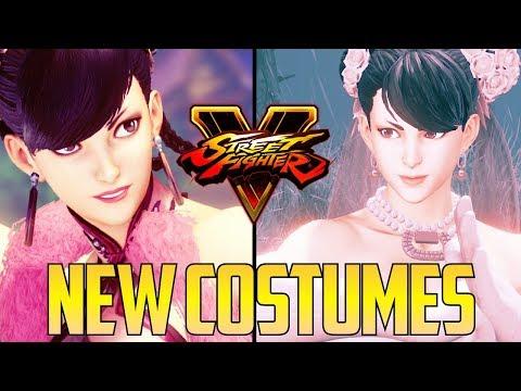 SFV S2.5 ▰ New Chunli Costumes Look Nice