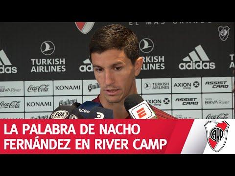 Nacho Fernández en rueda de prensa - 26/2/2020