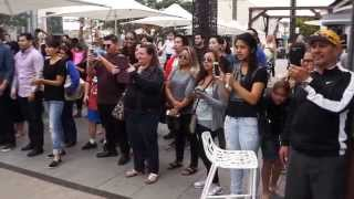 Bruno mars- marry you flash-mob marriage proposal Video
