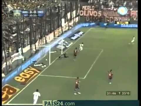 Luciano Leguizamon - Arsenal vs Independiente