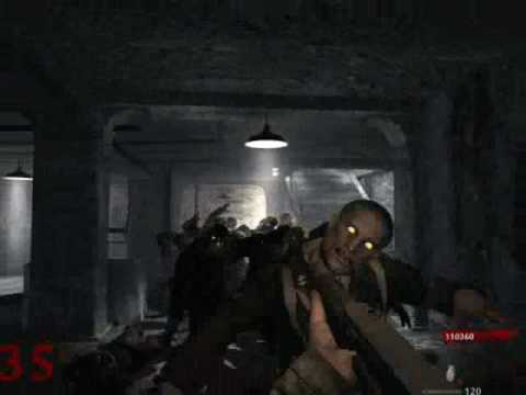 cod5 - cod5 nazi zombies SOLO Level 36!!!!!!! without cheats glitching or something! watch now!!!pls let a comment and rate!