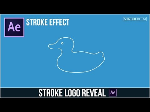 After Effects Tutorial: Stroke Logo Reveal Outline Effect