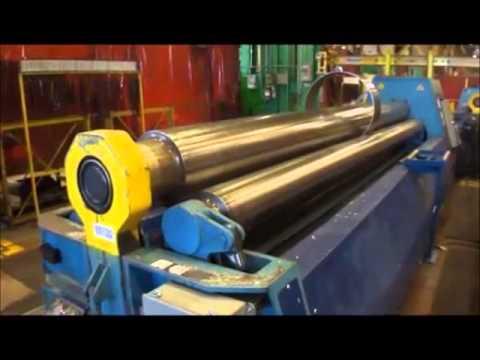 4 Roll Plate Bending Machine M G WH 510 C 2004
