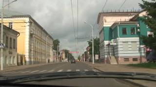 Kostroma Russia  City pictures : Kostroma Around by car