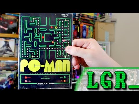 LGR - PC-Man - PC Booter Game Review