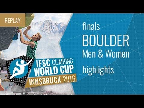 IFSC Climbing World Cup Innsbruck: Highlights der Finals