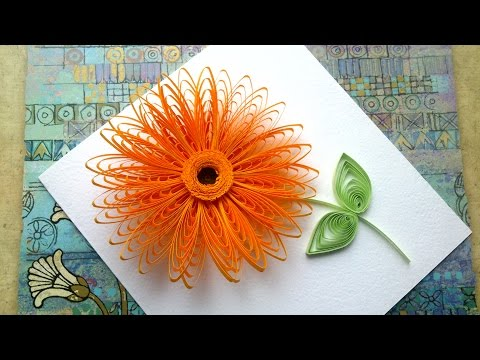 Quilling Flowers Tutorial Quilling flowers wiht  a comb tutorial. Quilling art.