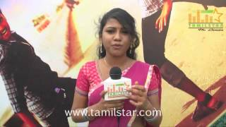 Manisha Ajith at  Kamar Kattu Movie Team Interview