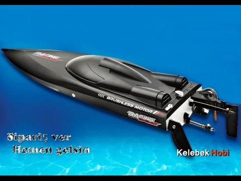 Su soğutmalı, brushless büyük rc model tekne