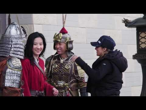 Mulan Behind The Scenes Soundbites