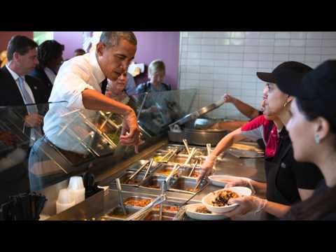 President Obama Called Out For 'Overreaching' At Chipotle