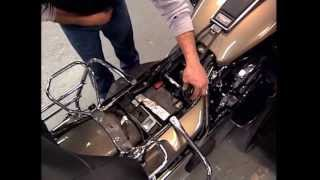 8. Harley Davidson Maintenance Tips: Touring Motorcycles - Seat Removal & Battery Check