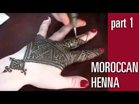 Fessi Moroccan Style Henna - Nic Cartier - Part I (видео)