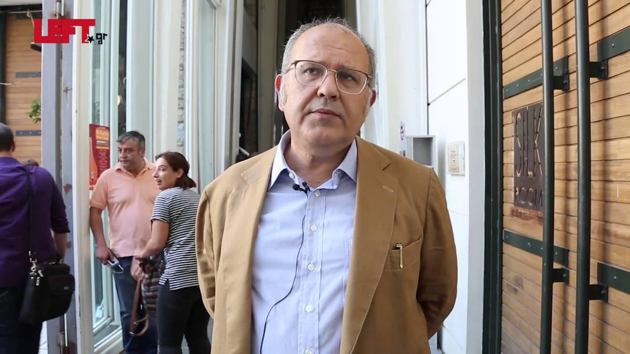 Πανελλαδική Σύσκεψη του ΣΥΡΙΖΑ- Νίκος Ξυδάκης