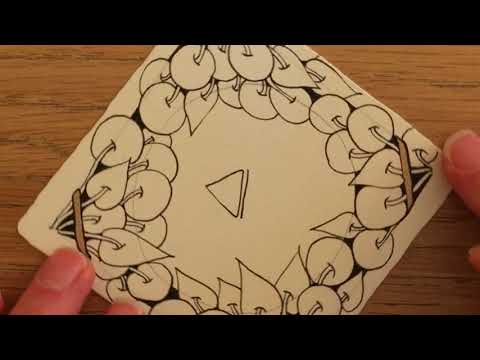 Zentangle® Project Pack #02 -- Day Two (Part 2)