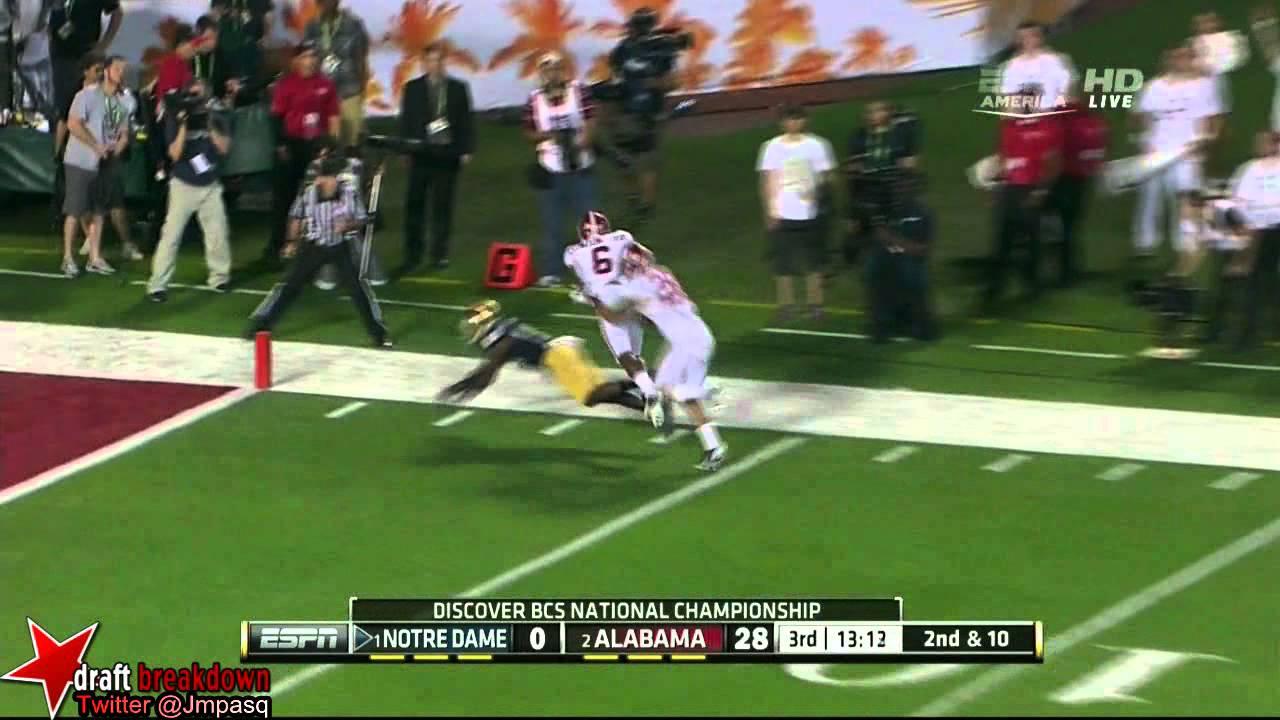 DaVaris Daniels vs Alabama & Purdue (2012)
