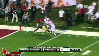 DaVaris Daniels vs Alabama & Purdue (2012)