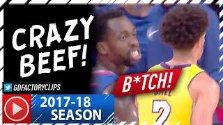 "Video Lonzo Ball vs Patrick Beverley CRAZY Beef Highlights (2017.10.19) - Calling Lonzo a ""B#tch"" MP3, 3GP, MP4, WEBM, AVI, FLV Oktober 2017"