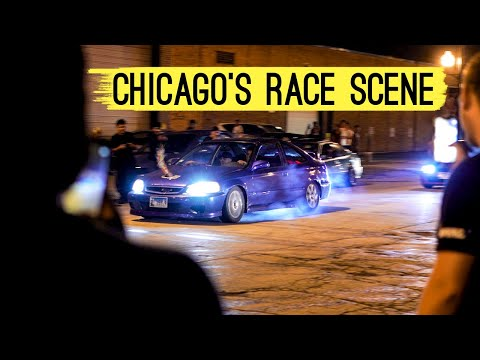 Chicago's ILLEGAL Street Racing Community