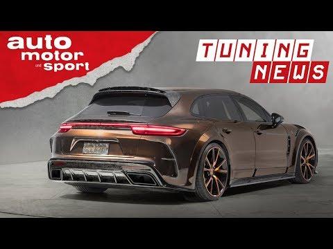 Mansory Porsche Panamera: Sport Turismo für ApoRed? - TUNING-NEWS | auto motor und sport