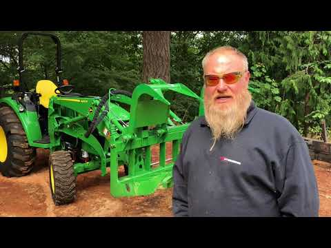 "NEW TOOL MONDAY 2: Titan 72"" Root Grapple For The John Deere 4 Series"