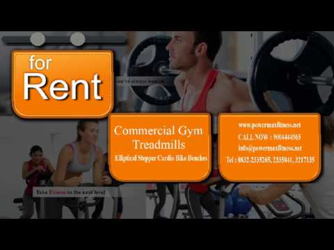 Lease Rent Treadmills Elliptical Stepper Cardio Bike Benches Best Dealers Manufacturer India