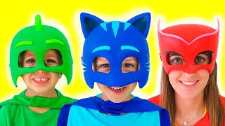 Vlad became a masked superheroes and help friends