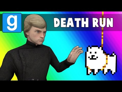 Gmod Deathrun Funny Moments - Undertale Map! (Garry's Mod) (видео)