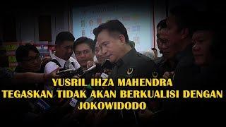 Download Video YUSRIL TEGASKAN TIDAK AKAN BERKUALISI DENGAN JOKOWIDODO - PBB NO URUT 19 MP3 3GP MP4