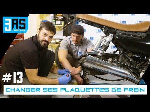 Comment changer ses plaquettes de frein et son disque? - Tuto Moto #13
