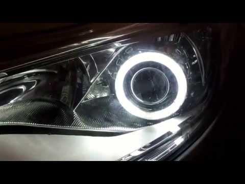 Установка би-линз Ford Focus 3