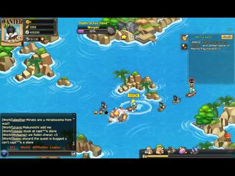 Pockie Pirates - Zoro VS Morgan - Part 2