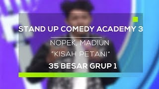 Video Stand Up Comedy Academy 3 : Nopek, Madiun - Kisah Petani MP3, 3GP, MP4, WEBM, AVI, FLV November 2017