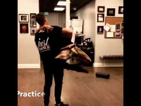 Dance Practice with Julz Tocker of Dancing With The Stars