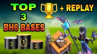 Today i am sharing top 3 builder hall 6 bases with some different replays as a proof. These 3 bh6 bases are the world's best bases ...