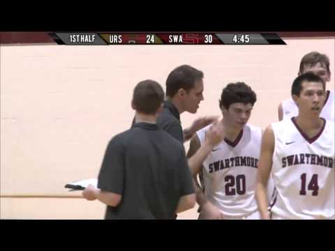 MBB: Swarthmore vs Ursinus